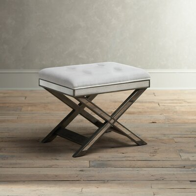 Bradford Vanity Stool Finish: Pewter