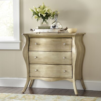 Saldana Chest Color: Brushed Pewter