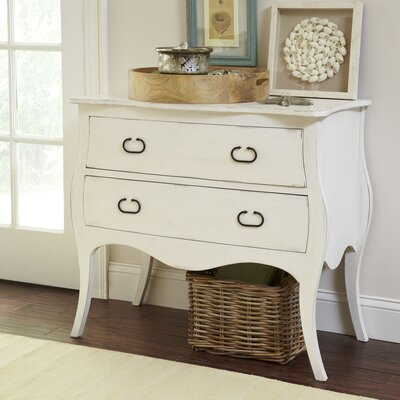 Leena 2 Drawer Accent Chest Color: Cream