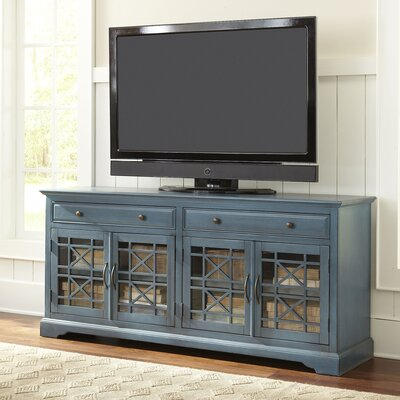 "Hubert 70"" TV Stand Color: Antique Blue"