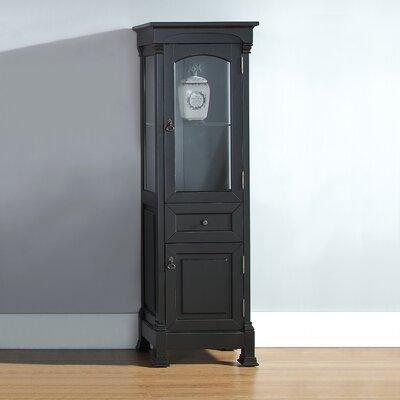 Stockbridge Vanity Accent Cabinet Color: Antique Black