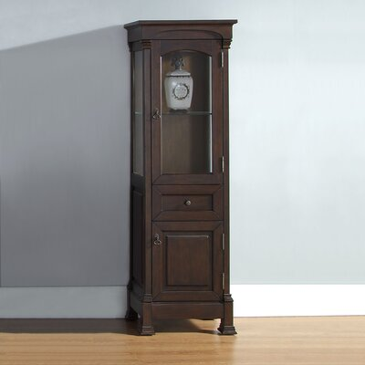 Stockbridge Vanity Accent Cabinet Color: Burnished Mahogany