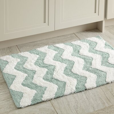 Dierdre Bath Mat Color: Aqua
