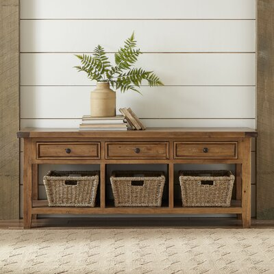 Whitaker Wood Storage Bench Color: Oxford
