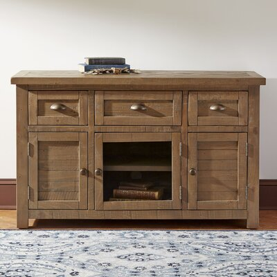 Wolfe Accent Cabinet Color: Medium Brown