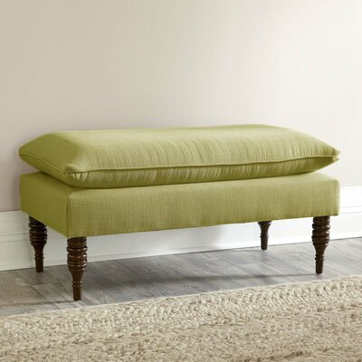 Greenough Upholstered Bench Fabric: Marlow Stone