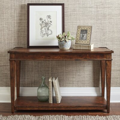 Wheaton Console Table Color: Coffee