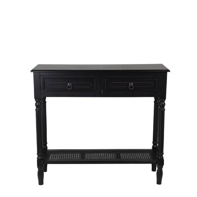 Seamus Console Table Color: Black