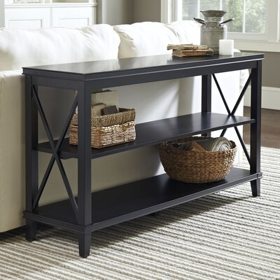 Larksmill Console Table Color: Black