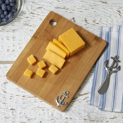Anchor Cutting Board & Spreader Set