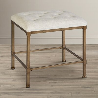 Gwyneth Backless Vanity Stool