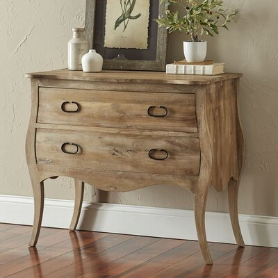 Leena 2 Drawer Accent Chest Color: Natural