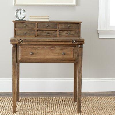 Hindon Secretary Desk Color: Oak