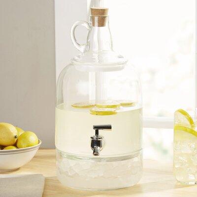 Earl Glass Jug Beverage Dispenser Size: 2.5 Gallons