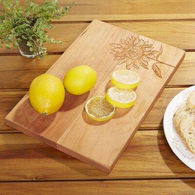Sunflower Artisan Cutting Board