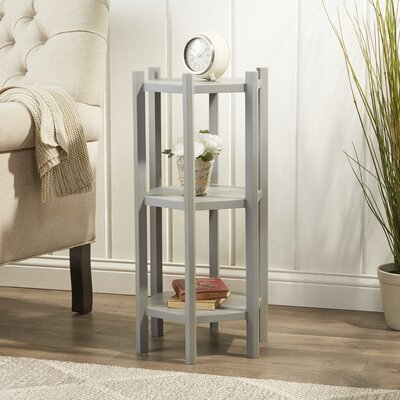Gallo Side Table Color: Pearl Blue Grey