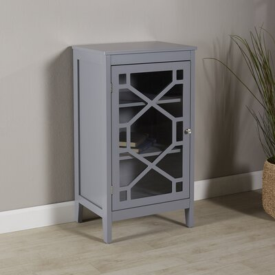 Pickwick Small Cabinet Color: Gray