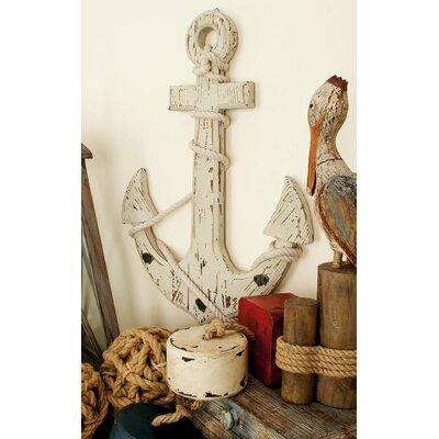 Wooden Anchor Wall Hook
