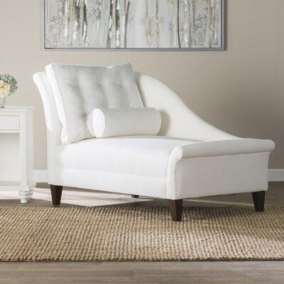 Haddon Chaise Lounge Upholstery: Zula Linen