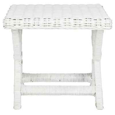Fradley Accent Stool Color: White