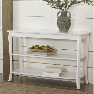 Alberts Console Table Color: White