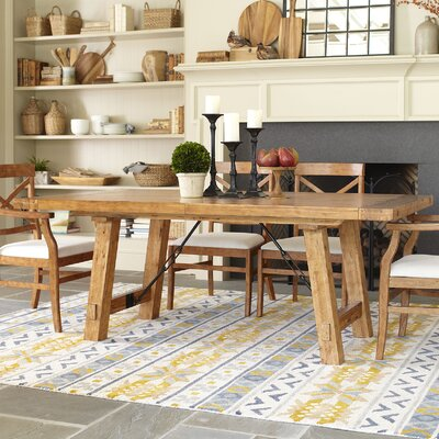 Mansfield Extendable Dining Table Finish: Honey/Natural