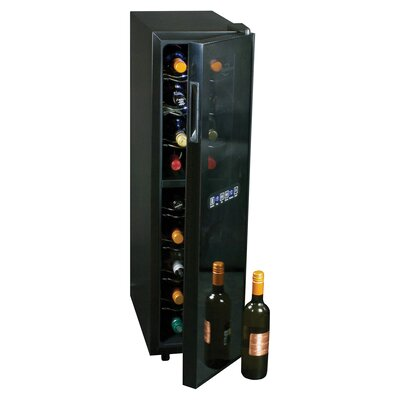 18 Bottle Dual Zone Freestanding Wine Cooler