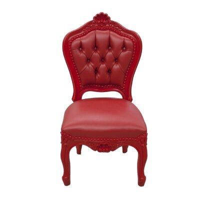 Reeves Kids Desk Chair Color: Monza Red