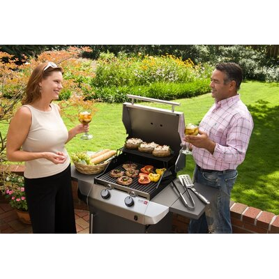 Char-Broil 47cm Performance Gas Barbecue with Side Shelf
