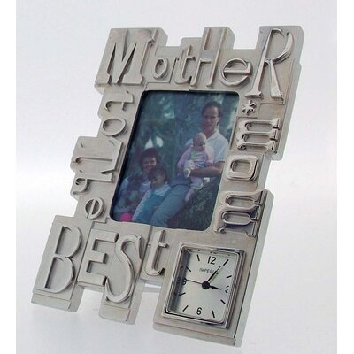 Imperial Clocks Mother Photo Frame Clock
