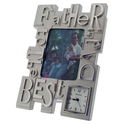 Imperial Clocks Father Photo Frame Clock