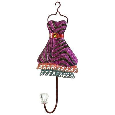 Metal Dress Design Wall Hook