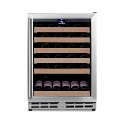 46 Bottle Single Zone Convertible Wine Cooler