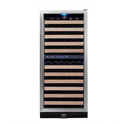 106 Bottle Dual Zone Convertible Wine Cellar
