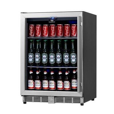 23.42-inch 5.37 cu. ft. Undercounter Beverage Center