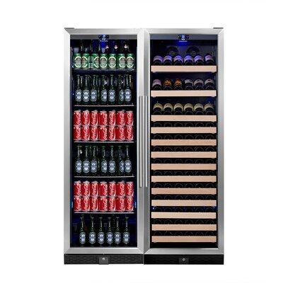 131 Bottle Dual Zone Built-In Wine Cellar