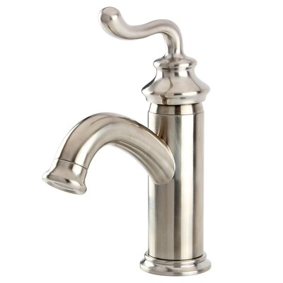 Royale Centerset Bathroom Faucet with Pop-Up Drain Finish: Brushed Nickel