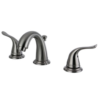 Yosemite Widespread faucet Bathroom Faucet with Drain Assembly Finish: Brushed Nickel
