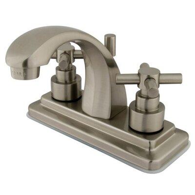 Elinvar Centerset Bathroom Faucet with Pop-Up Drain Finish: Brushed Nickel