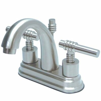 Milano Centerset Bathroom Faucet with Pop-Up Drain