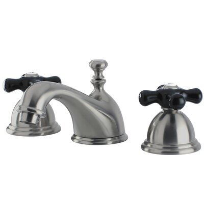 Duchess Widespread Bathroom Faucet with Drain Assembly Finish: Brushed Nickel