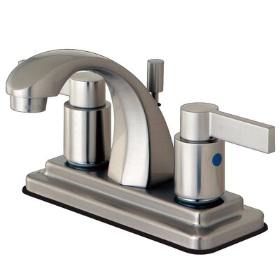NuvoFusion Centerset Bathroom Faucet with Pop-Up Drain