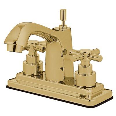 Elinvar Centerset Bathroom Faucet with Pop-Up Drain Finish: Polished Brass