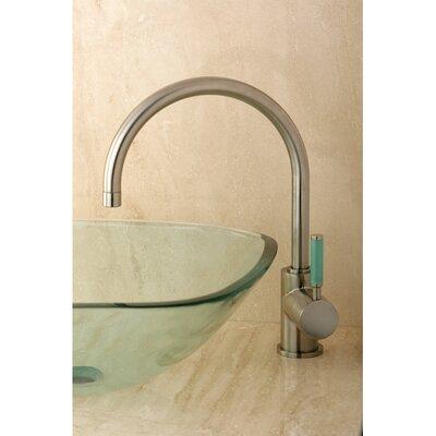 Green Eden Vessel Sink Faucet Finish: Brushed Nickel
