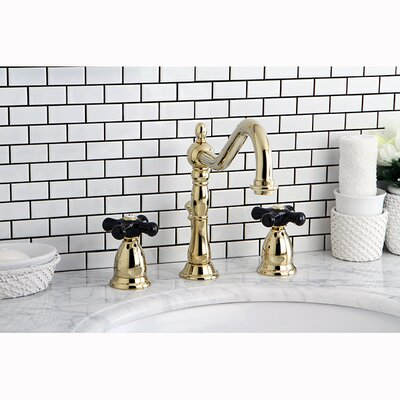 Duchess Widespread Bathroom Faucet with Pop-Up Drain Finish: Polished Brass