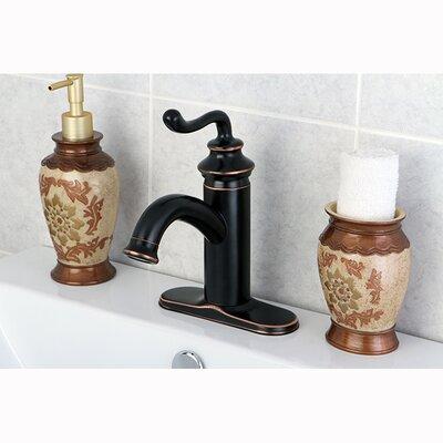Royale Centerset Bathroom Faucet with Pop-Up Drain Finish: Naples Bronze