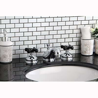 Duchess Widespread Bathroom Faucet with Pop-Up Drain Finish: Chrome