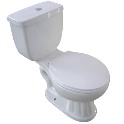 Ecolin Close-Coupled 1.6 GPF Elongated Two-Piece Toilet