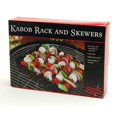 Charcoal Companion Non-Stick Kabob Rack