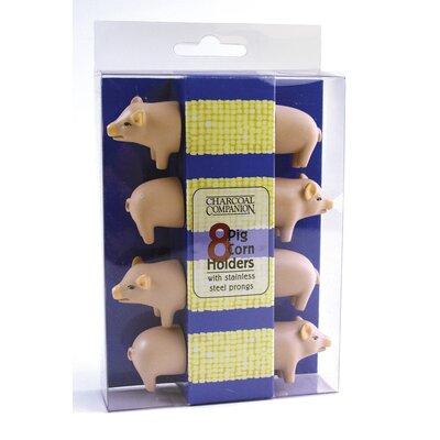 Charcoal Companion Pig Corn Holder
